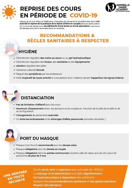 Protocole Sanitaire 2020-2021